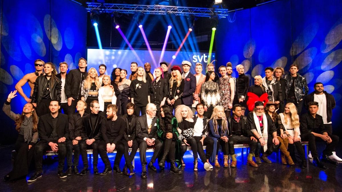 Artister Melodifestivalen 2017