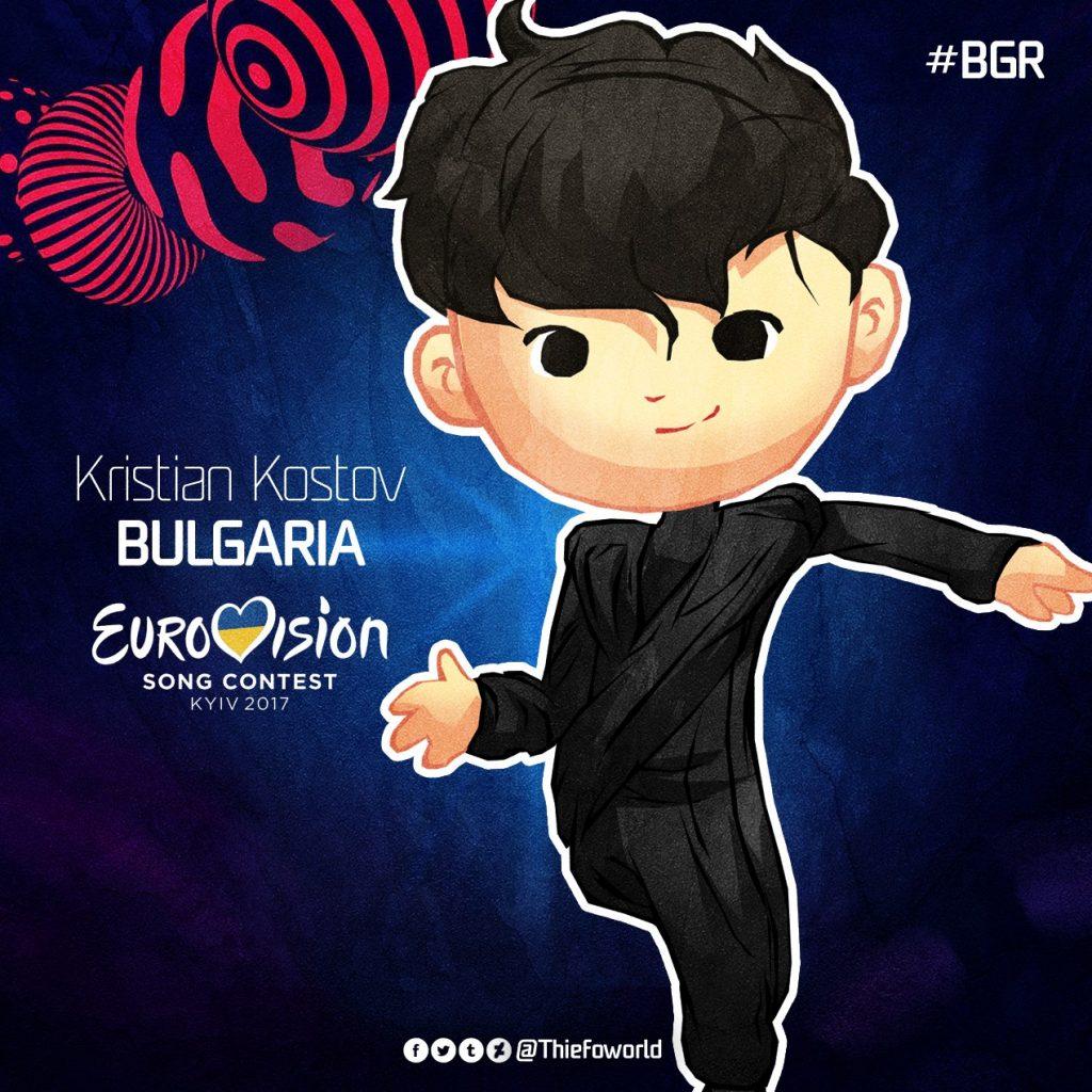 Kristian Kostov Bulgaria