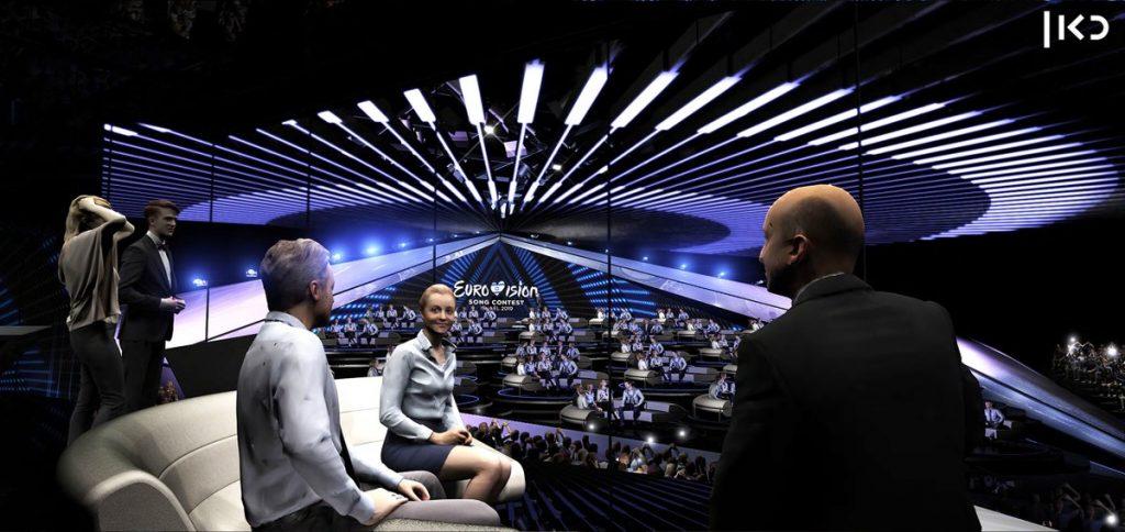 Eurovision Green Room Display 01