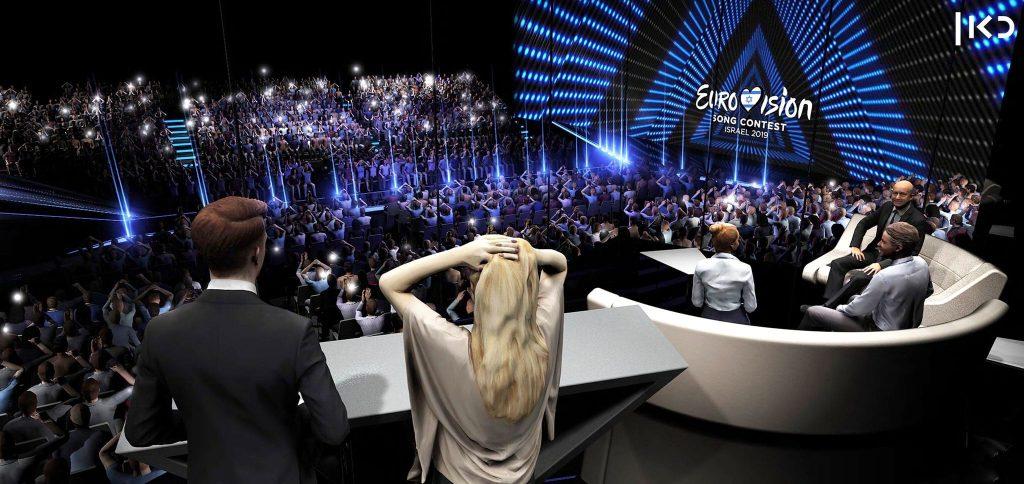 Eurovision Green Room Display 03
