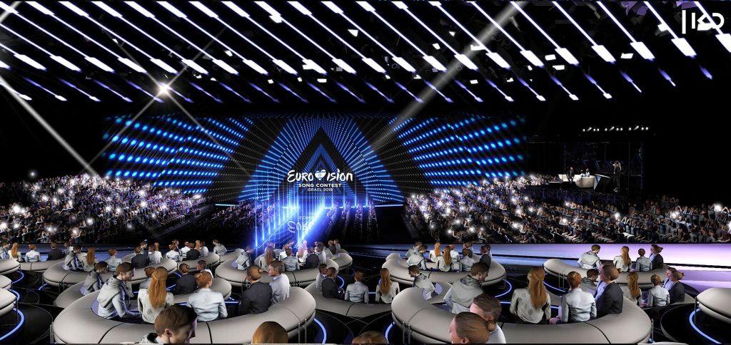 Eurovision Green Room Display 04